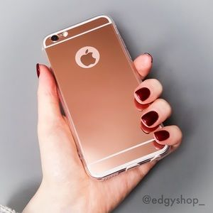 Mirror Back Soft iPhone Case
